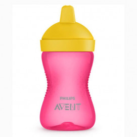Philips Avent Non-diffusing cup with hard tip 300ml, 18m+ Pink