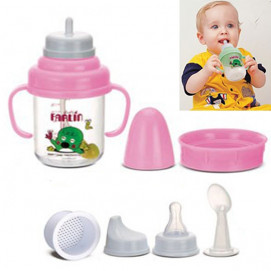 Farlin Baby Cup 5 in 1 - 150ml. Pink