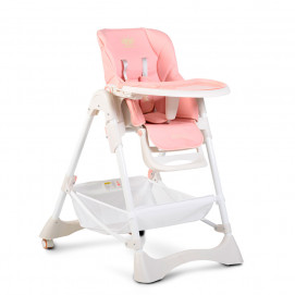 Moni High Chair CHOCOLATE Pink
