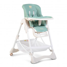 Moni High Chair CHOCOLATE Turquoise