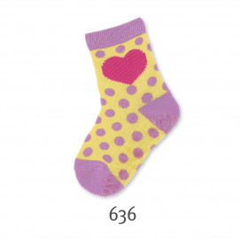 Sterntaler Stockings with silicone sole Heart