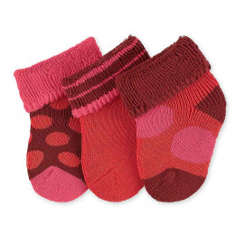 Sterntaler Baby socks 3 pairs of girl