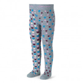 Sterntaler Kids cotton tights Hearts and Stars