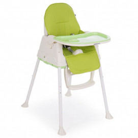 Kikkaboo High Chair CREAMY Green