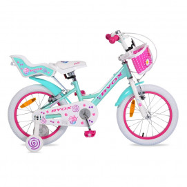 "BYOX Kids bicycle 16 ""Cupcake"