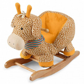 Sterntaler Children's wooden swing GIRAFFE