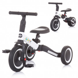 Chipolino Tricycle - Balance bike SMARTY 2 in 1 White