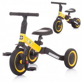 Chipolino Tricycle - Balance bike SMARTY 2 in 1 Yellow