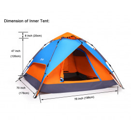 "Moni Sofa tent Go ""n"" camp"
