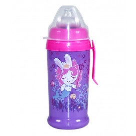 Lorelli Children's sports bottle with a handle 350 ml. Mermaid