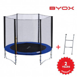 BYOX Trampoline with external network 8FT / 244 cm