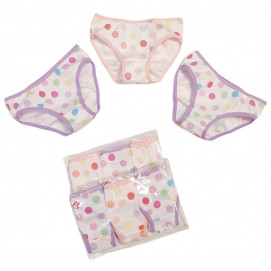 Venera Set of 3 tank top rips for girl 7227 (from 86 to 128 cm)