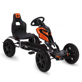 BYOX Karting with pedals ADRENALINE PVC Black