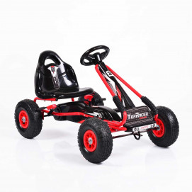 Moni Karting with pedals TOP RACER Red