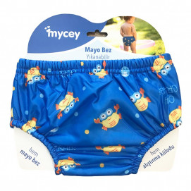 Mycey Baby diapers swimsuit (S, M, L) Blue