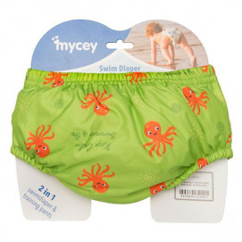 Mycey Baby diapers swimsuit (S, M, L) Green