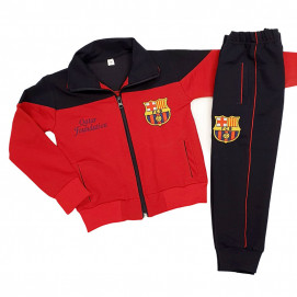 N/A Children's sports kit BARCELONA (62 to 170 cm) Red
