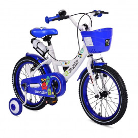 Moni Children's bicycle 1681 (4-6) Blue