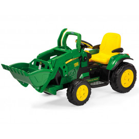 Peg Perego Children excavator J. DEERE GROUND LOADER 12V