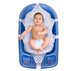 Sevi bebe Bathing pad with filling blue