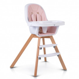 Cangaroo Wooden Highchair HYGGE 2in1 Pink
