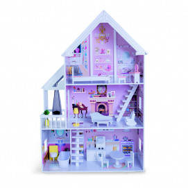 Moni Toys Wooden house for dolls with accessories CINDERELLA
