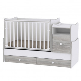Lorelli Swinging Bed TREND PLUS 70/160 White/Art