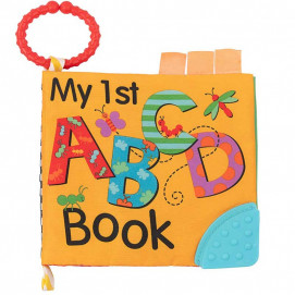 Kikkaboo Educational textile booklet Teether ABC