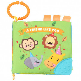 Kikkaboo Educational textile booklet Teether FRIEND LIKE YOU