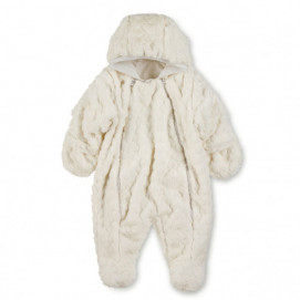 Sterntaler Baby winter overalls Ecru 908 (from 56 to 74 cm)