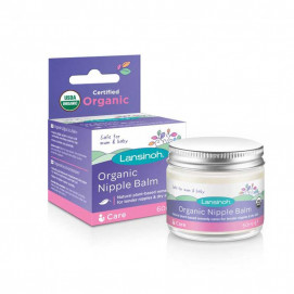 Lansinoh Organic balm for sensitive nipples and dry skin - Organic Nipple Balm