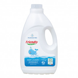 Friendly Organic Detergent for washing baby clothes Unscented 2l 40 washes FR.02298