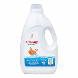 Friendly Organic Detergent for washing baby clothes Flowers 2L / 40 laundry FR.02205
