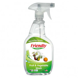 Friendly Organic Preparation for washing fruits and vegetables 650 ml.