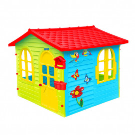Mochtoys Large house with drawing board 12241