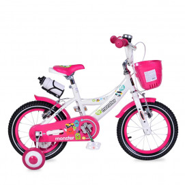 "Moni Bicycle 14 ""- pink 1481"