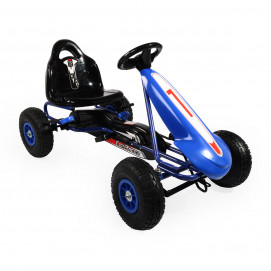 Moni Karting with pedals TOP RACER Blue