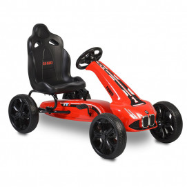 Moni Karting with pedals MONTE CARLO Red
