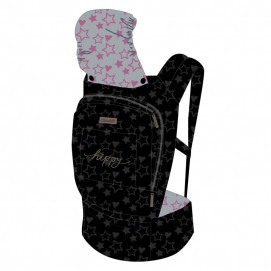 Chipolino Baby carrier HIPPY Stars Pink