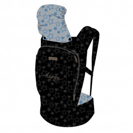 Chipolino Baby carrier HIPPY Stars Blue
