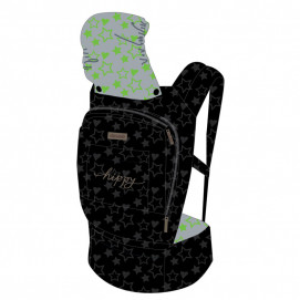 Chipolino Baby carrier HIPPY Stars Lime