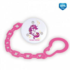 Canpol Clip for Pacifier pink