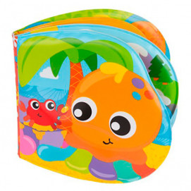 Playgro Booklet for bathroom Fun friends 6m+