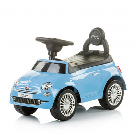 Chipolino Fiat 500 blue riding cart