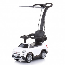 Chipolino Licensed musical ride on car FIAT 500X White