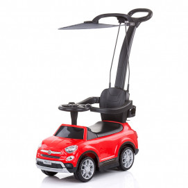 Chipolino Licensed musical ride on car FIAT 500X Red