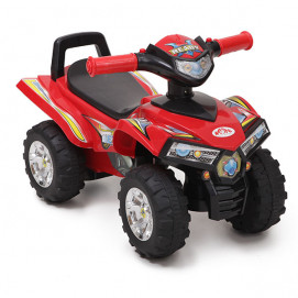 Moni Car riding and pushing ATV Red
