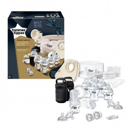 Tommee Tippee Breastfeeding Kit with Microwave Sterilizer TT-423585