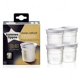 Tommee Tippee Breast milk containers 60 ml 4 pcs TT.0045