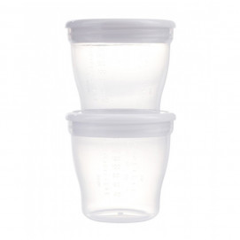 Canpol babies Storage containers of 180 ml milk. 4 pieces